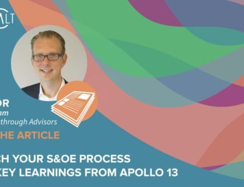 Launch your S&OE process with key learnings from Apollo 13