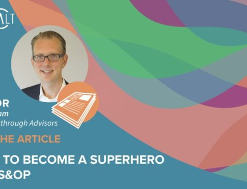 4 tips to become a superhero with S&OP